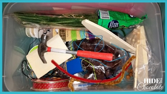 How to Create a Winter Time Nature Tinker Kit - Basic Tinker