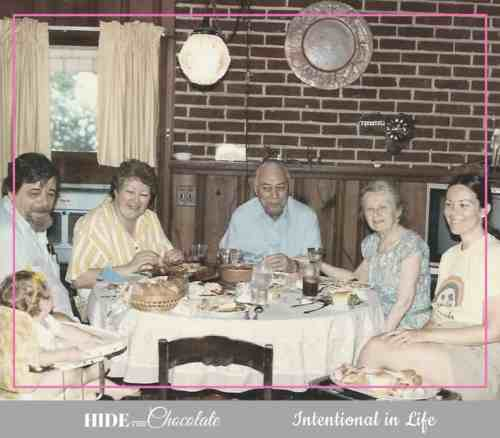 How to Homeschool in the Midst of Caring for Aging Parents - Family Dinner