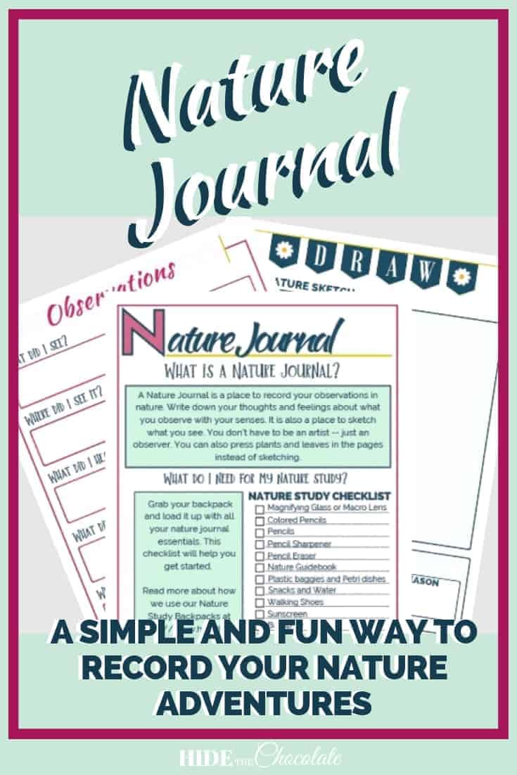Nature Journal ~ Recording Your Nature Adventures