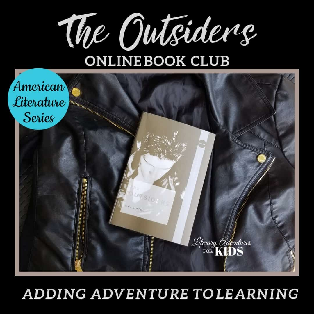 The Outsiders Online Book Club American Classic Literature Series