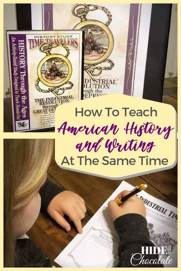 How To Teach American History and Writing At The Same Time