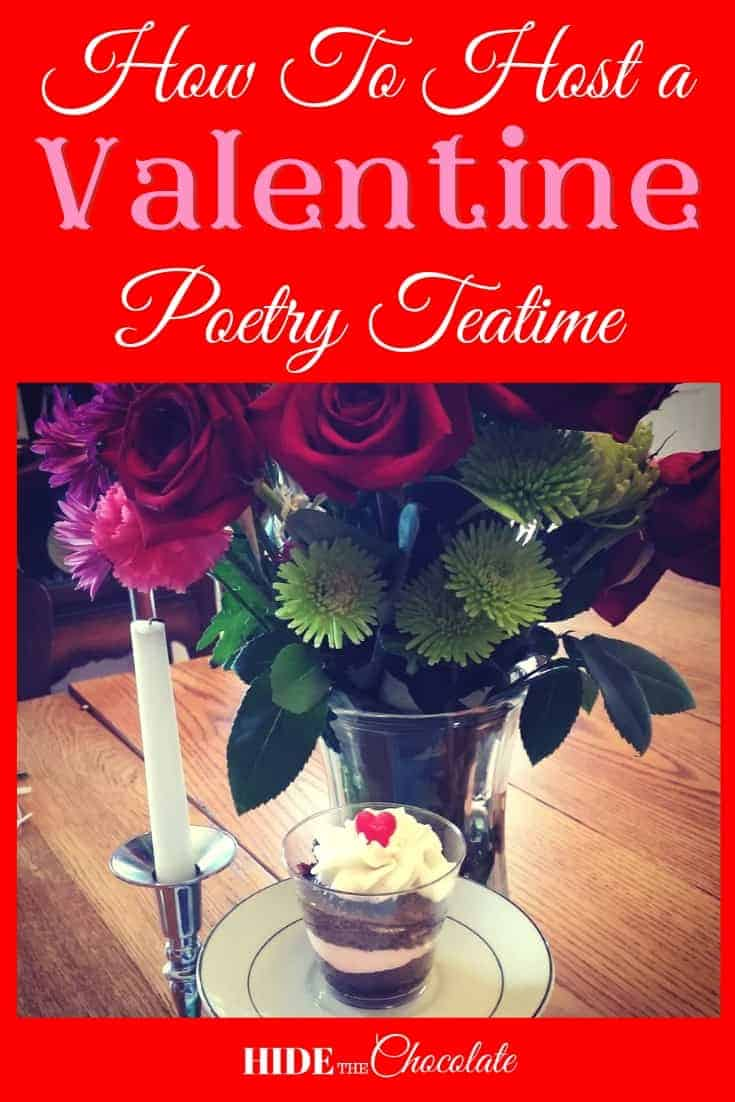 How to Host a Valentine Poetry Teatime PIN1