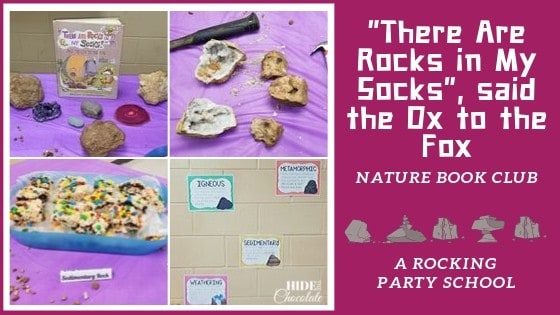 There Are Rocks in My Socks Nature Book Club Featured