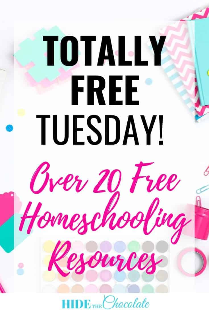 Totally Free Tuesday PIN ~ Free Homeschool Resources