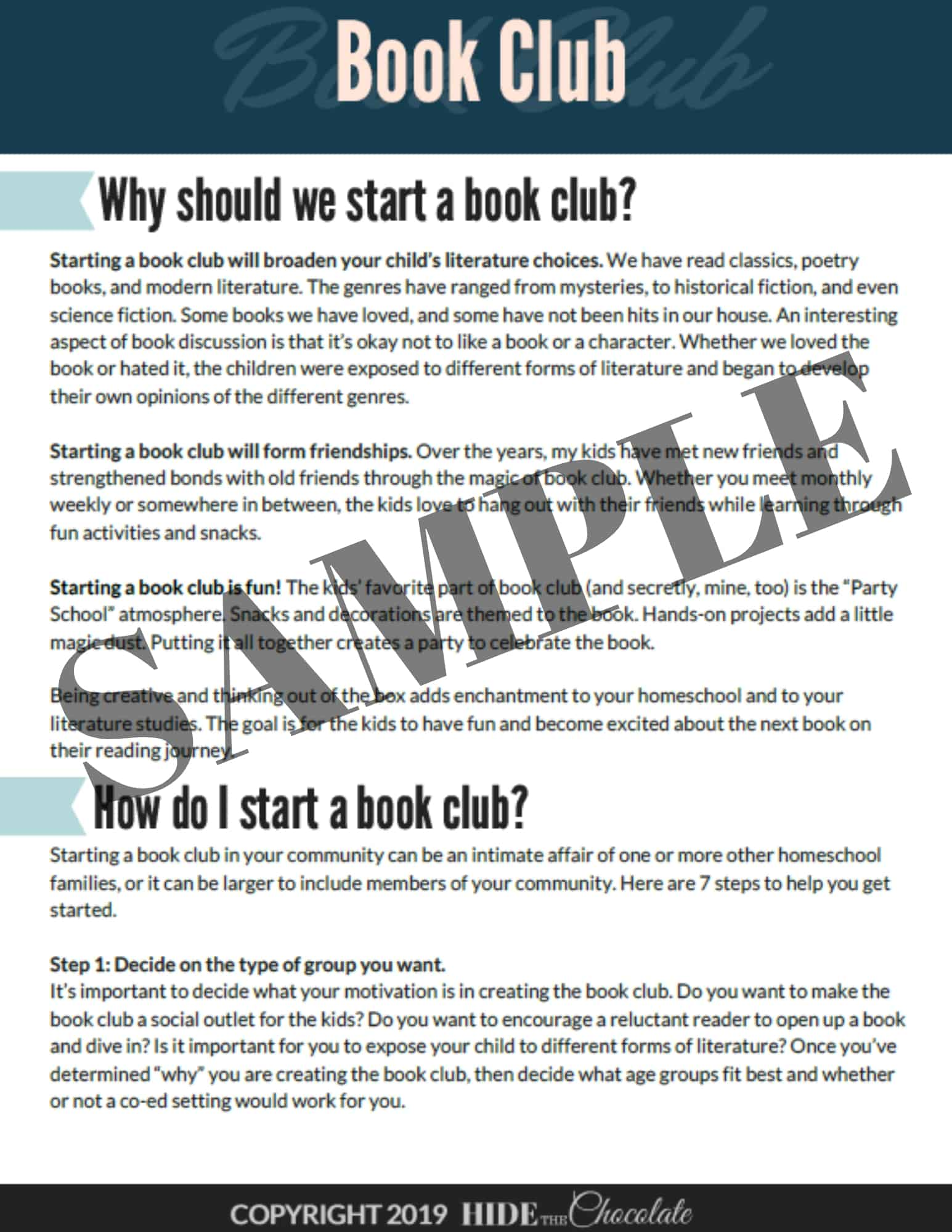 Book Club Sample1