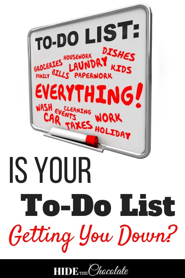 Hey Homeschool Mom, Is Your To-Do List Getting You Down?