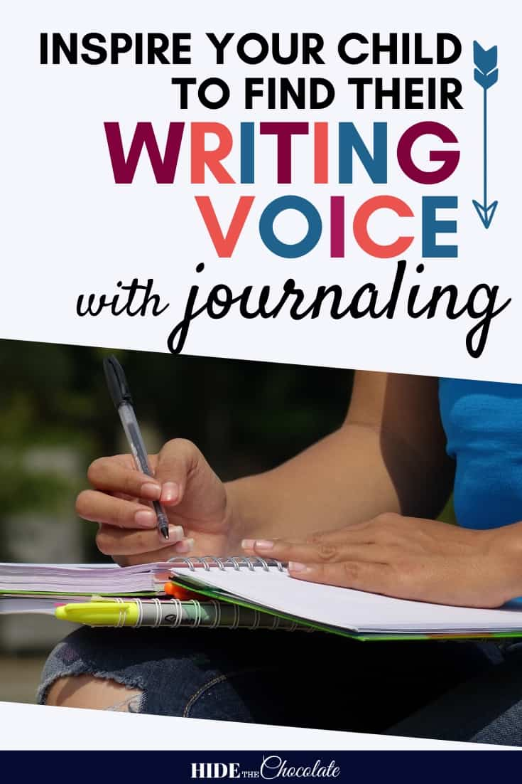 Journaling ~ Inspiring Your Child To Find Their Writing Voice