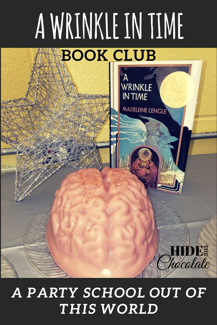 A Wrinkle in Time Book Club ~ An Out of this World Party School