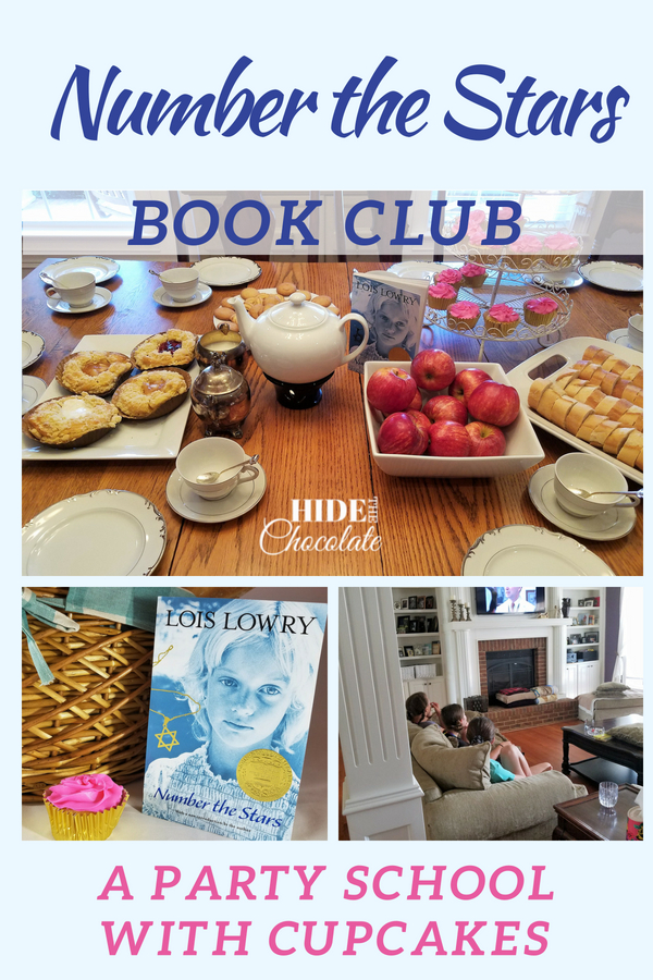 Number the Stars Book Club ~ A Party School with Cupcakes