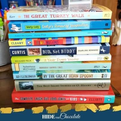 Adding Humor To Your Homeschool - Books
