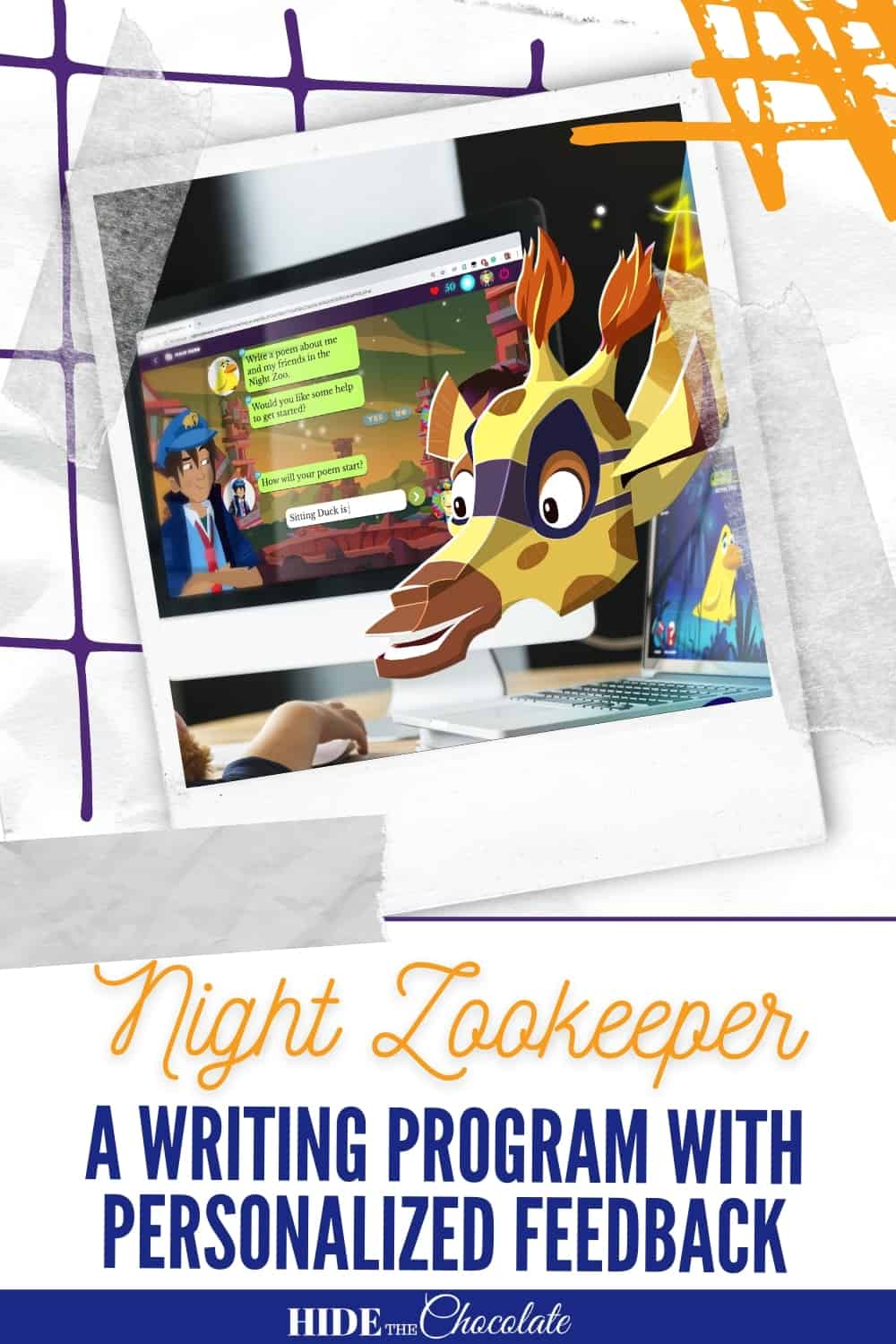 Night Zookeeper: A Writing Program With Personalized Feedback