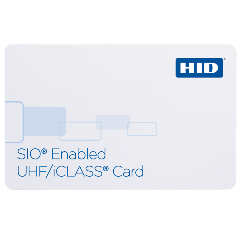 HID® 601X SIO® Enabled UHF/iCLASS® Card
