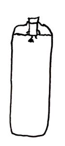 Sistema Kratky en el estado inicial