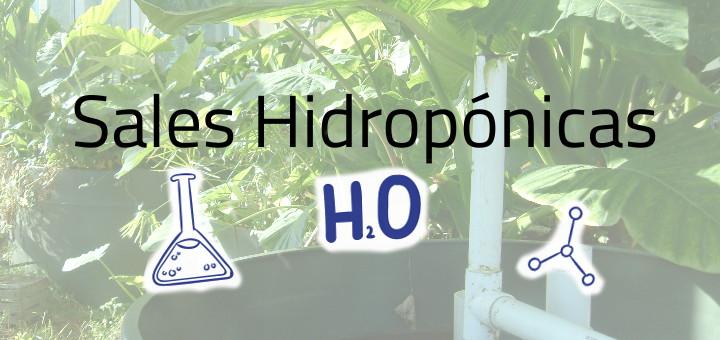 sales hidroponicas