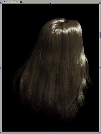 Softimage-Hair test