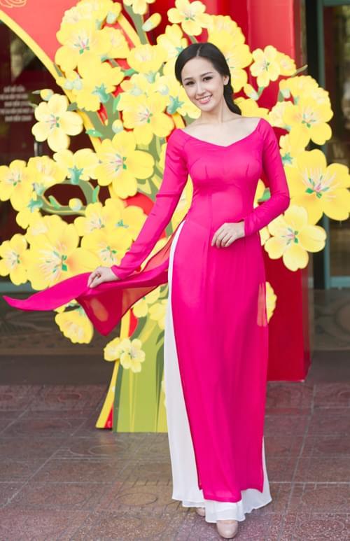magenta-Pink-Viet-Nam-Ao-Dai