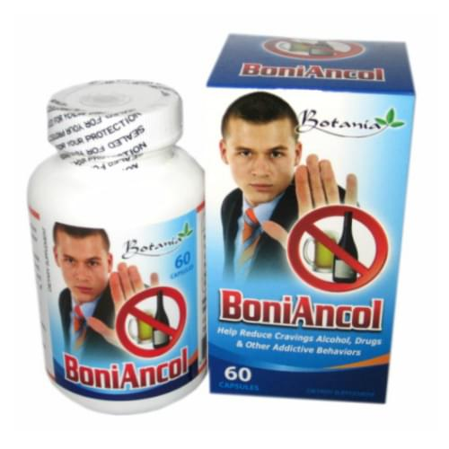 Boniancol Botania reduces alcohol addict