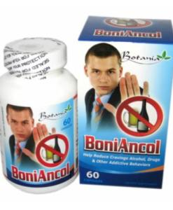 Boniancol Botania reduces alcohol addict