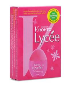 lycee v rohto eye drops