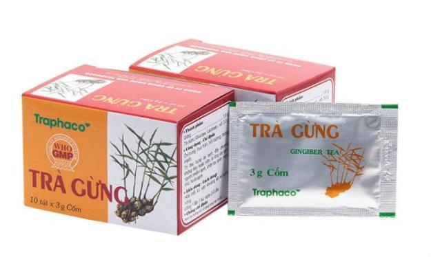 traphaco ginger tea 3