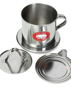 vietnam stainless steel coffee filter set ground coffee