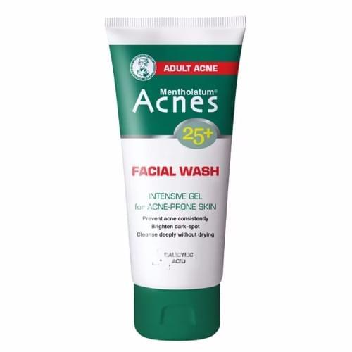 Acnes Facial Wash Mentholatum Intensive Gel