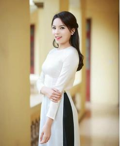 Vietnamese Ao Dai With Skirt
