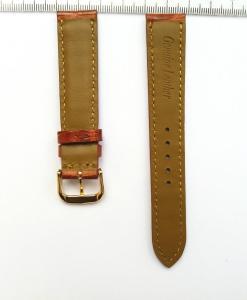 Mars-Red-Orange-Aligator-strap-18-mm