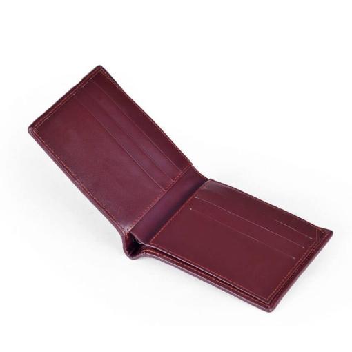 crocodile-copper-back-skin-leather-men-wallet-brown