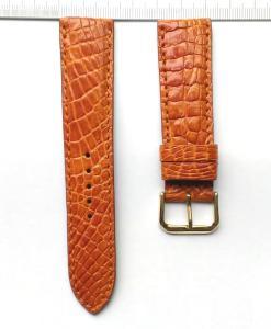 Brown Alligator Watch Strap 22mm
