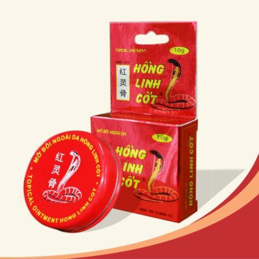 medicated balm hong linh cot 10 grams