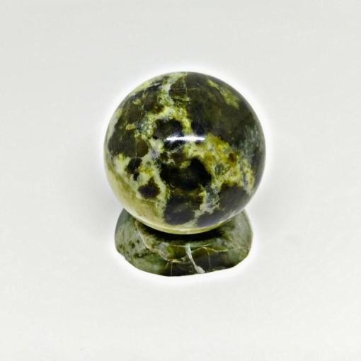 Vietnam Natural Polish Stone Green Ball Home Deco