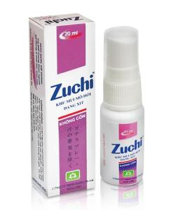 Zuchi Spray Deodorant Alcohol-Free