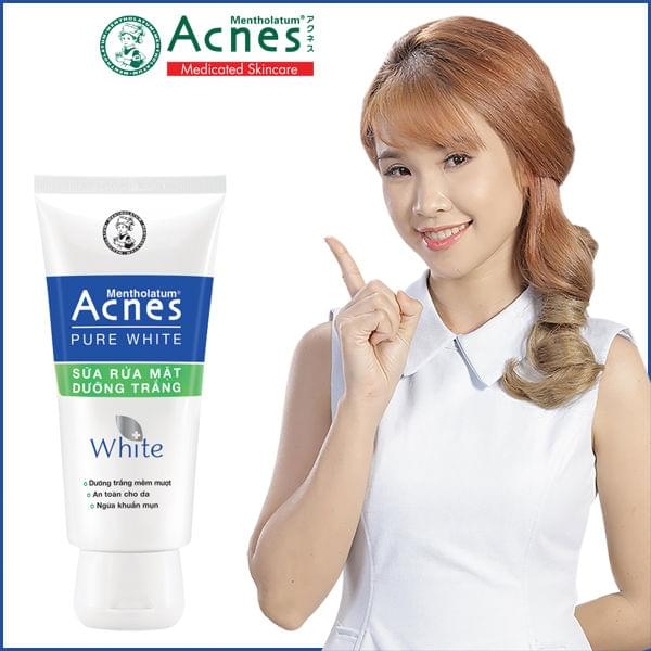 Acnes Pure White Cleanser 3