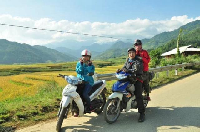 mu cang chai rent motor bike