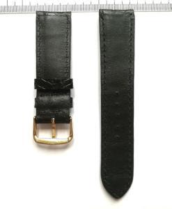 Black Alligator Crocodile Wrist Watch Strap 22mm 2
