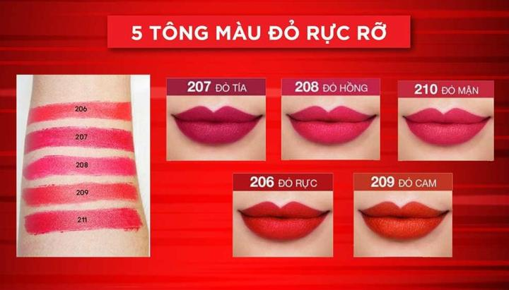Maybelline Lipstick New York 3