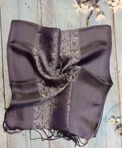 Warm Grey Silkworm Women Scarves