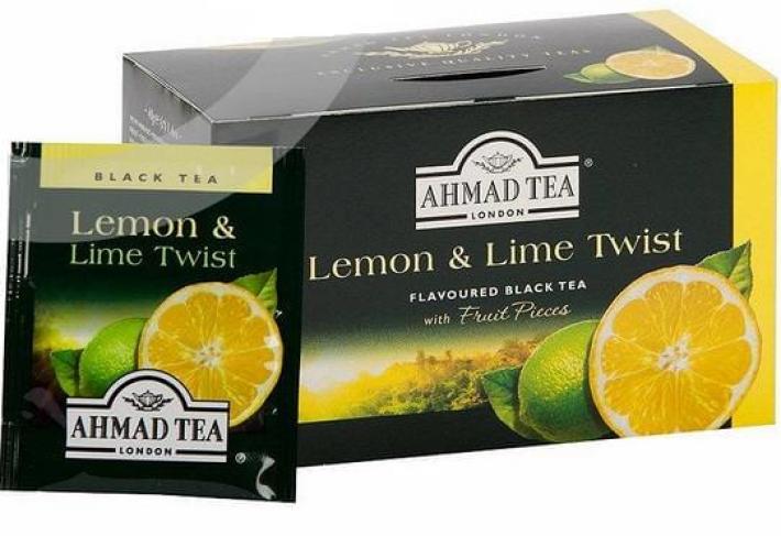 Ahmad Black Tea Lemon Lime 2