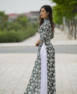 Ao Dai Vietnam New Fabric Collection 2
