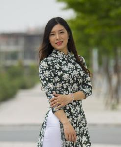 Ao Dai Vietnam New Fabric Collection