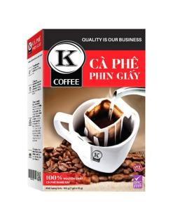 K Filter Black Coffee Pure Roasted Ground Coffee