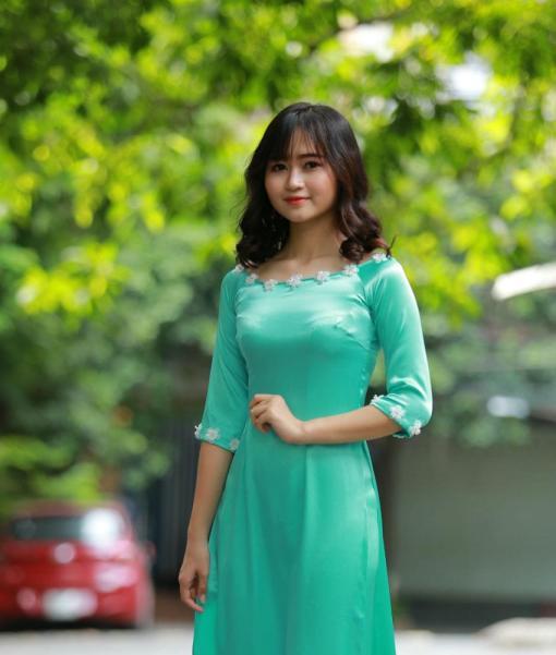 Sell Ao Dai Vietnam Satin