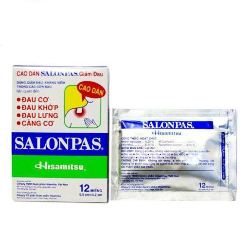 Salonpas Hisamitsu Patches Pain Relief
