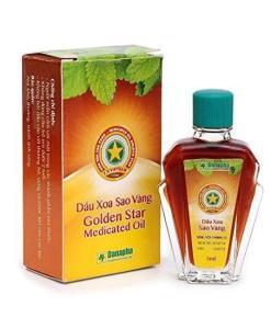 Vietnam Golden Star Medicated Oil