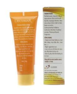 Decurma gel anti-acné nano curcumine 1