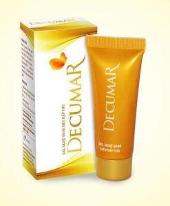 Decurma gel anti-acné nano curcumine