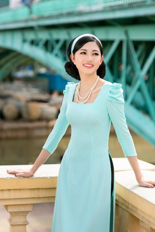 Shoulder Pleated Ao Dailight blue