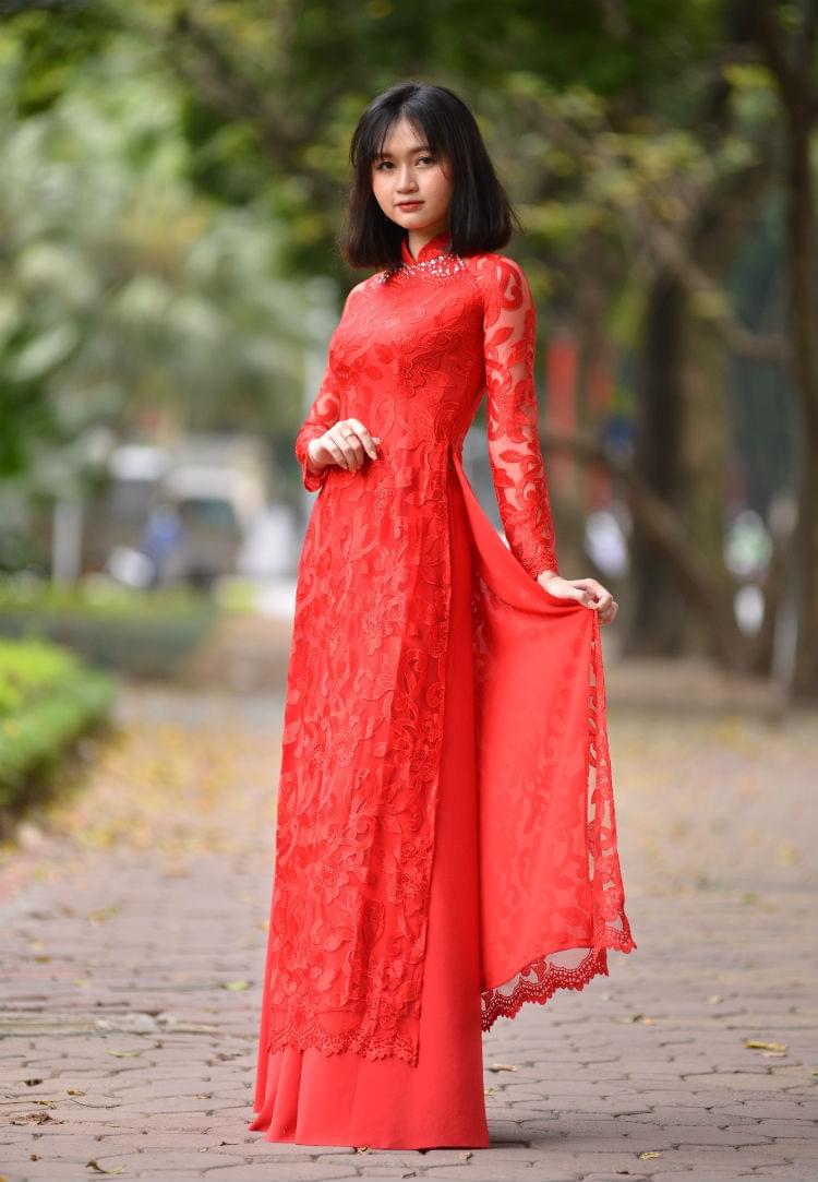Vietnam Ao Dai New Collection 2018 Custom Made