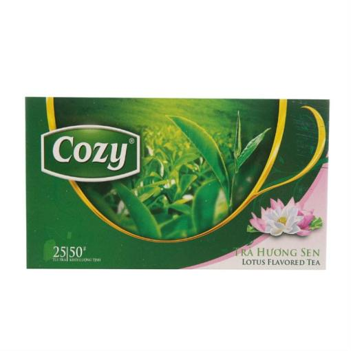 Cozy Lotus Flavored Tea